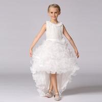 New Diamond Girls dress trailing grid layered dressescostumes bow princess dress LT-21