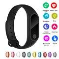 Günstige Neue Smart Fitness Armband Herz Rate Monitor Uhr Uhr Schrittzähler Aktivität Tracker Für IOS/Xiao mi/Honor PK mi Band 2/3/4-in Digitale Uhren aus Uhren bei