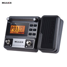 MOOER GE100 Guitar Multi-effects Processor Effect Pedal с большим ЖК-дисплеем 8 модулей эффектов Loop recording (180 секунд)(China)