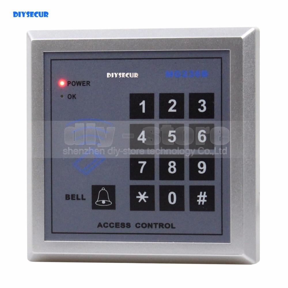 DIYSECUR Access Controller Keypad 13.56MHz RFID IC Cards Proximity Reader + 10 Free IC Card For House /Office /Home Improvement usb pos numeric keypad card reader white