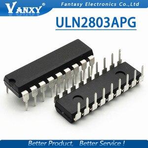 Image 4 - 10 Uds. De transistores ULN2803APG ULN2803 ULN2803A ULN2803AP DIP 18 ULN2803AN darington, nuevos y originales