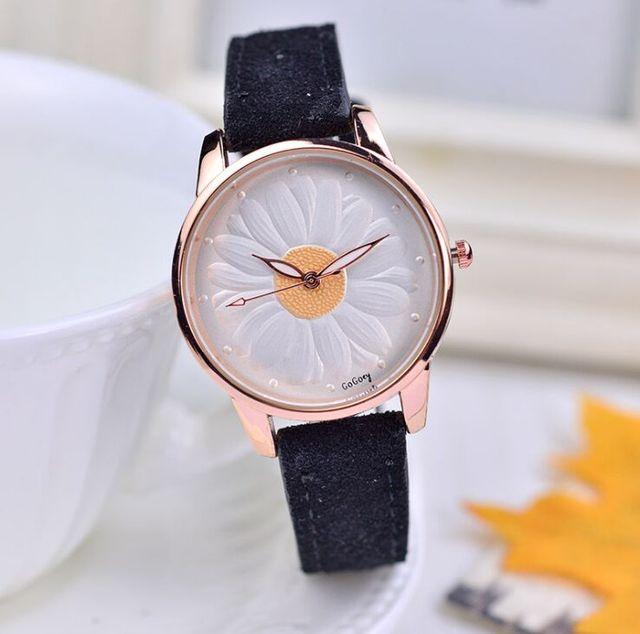 High Quality Gogoey brand Women's Bracelet Watches Ladies Flower Dress Quartz Wr
