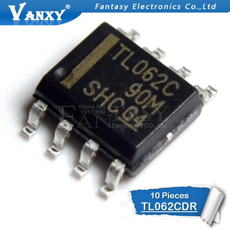 10pcs TL062CDR SOP-8 TL062C SOP8 TL062 SOP 062C TL062CDT