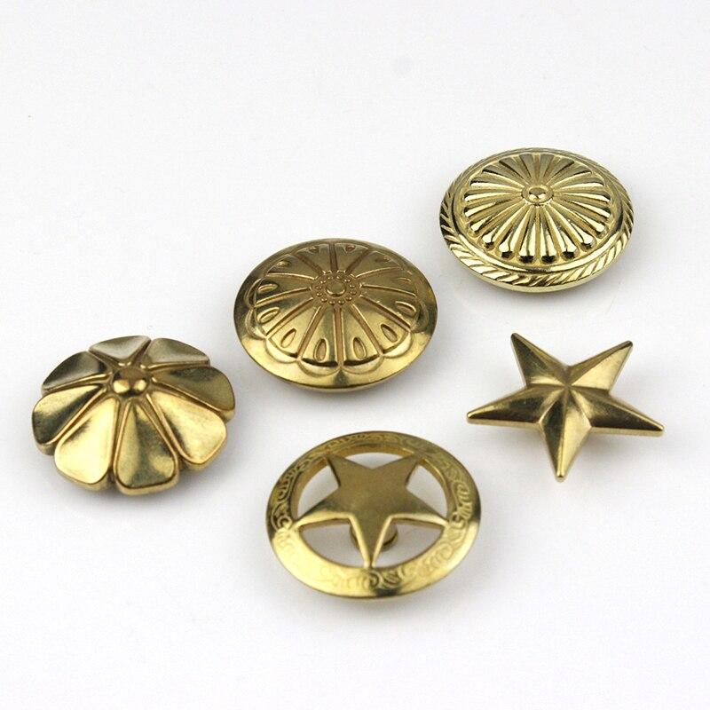 Concho decorativas de los remaches de fijaci/ón de los remaches de Trinidad