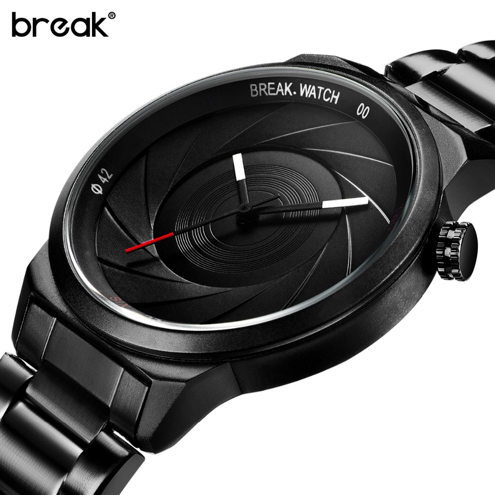 Break Unique Photographer Series Design Men Women Unisex Brand Wristwatches Sports Rubber Quartz Creative Casual Fashion Watches break photographer series unique camera style stainless strap men women casual fashion sport quartz modern gift wrist watches