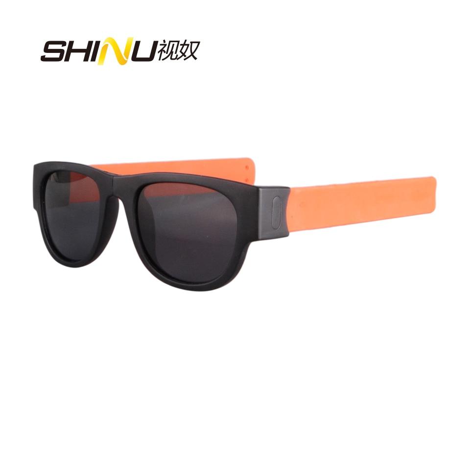 Men's Glasses Energetic New Fashion Folding Sunglasses Women Men Beach Eyewear Polarized Sun Glasses With Bendable Rubber Legs Oculos De Sol Sn7095 Clear-Cut Texture Apparel Accessories