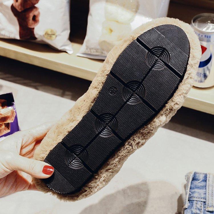 leopard Mujer Respirant Plat noir Femmes Confortable Beige Zapatos Peluche Courte Chaussures Troupeau kaki Fille D'hiver Fl84 Sur Smart Glissement De Aleafalling w0qxdUHH
