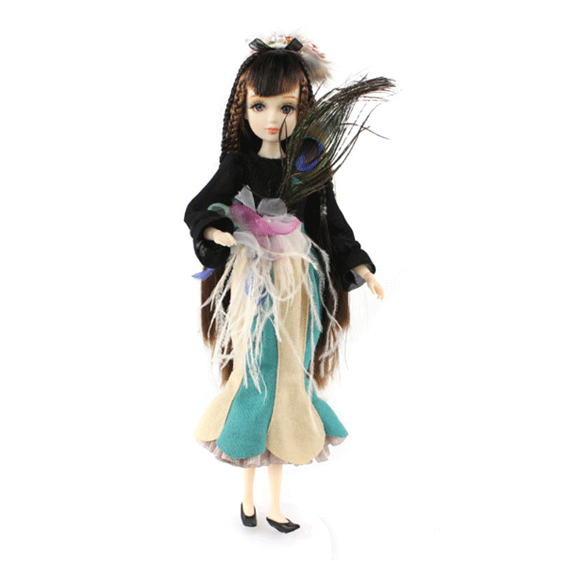 ICY Free shipping BLYTH bjd neo Fortune days fashoin doll Xiaojing JOINT body brown black hair dress box shoes stand toy gift цена и фото