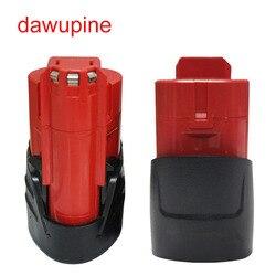 M12B электрическая дрель батарея пластиковый чехол печатная плата для Милуоки 48-11-2411 M12 10,8 В литий-ионный аккумулятор