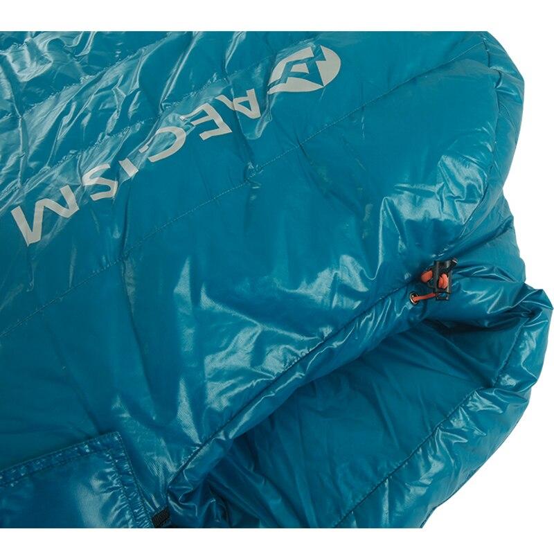 Aegismax nouveau Mini mise à niveau sac de couchage 95% duvet d'oie blanche épissure momie ultra-léger randonnée Camping 800 FP Nano Nano2 rouge bleu - 5