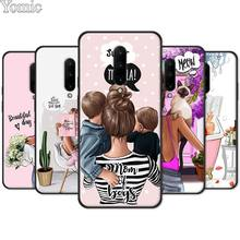 Phone Case for Oneplus 7 7 Pro 6 6T 5T Soft TPU Case for Oneplus 7 7Pro Black Silicone Cover Shell Queen Princess Girl