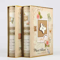 4D Große 6-zoll Intert Fotoalbum 200 Seiten Sammelalbum Papier Baby Familie Sammelalbum Alben Hochzeit Foto Album Scrapbooking album