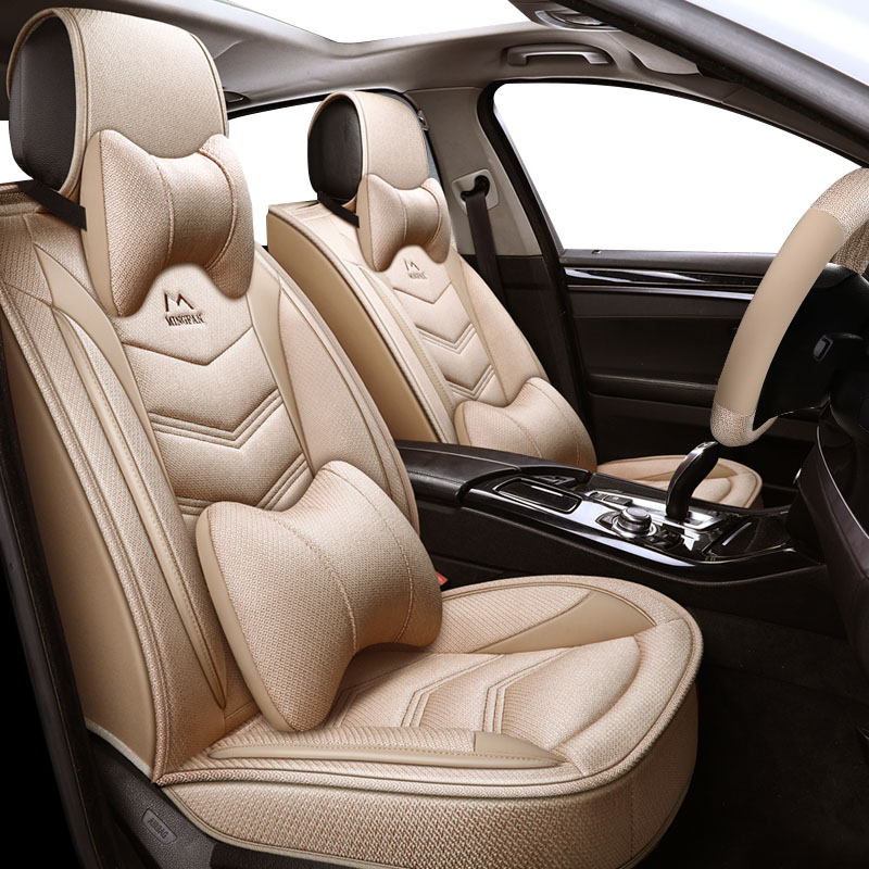Yuzhe car <font><b>seat</b></font> <font><b>cover</b></font> For <font><b>Peugeot</b></font> 205 206 207 2008 3008 <font><b>301</b></font> 306 307 308 405 406 407 accessories <font><b>covers</b></font> for vehicle <font><b>seat</b></font> <font><b>covers</b></font> image