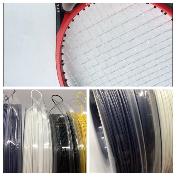 2pcs class a Tennis Racket +4pcs class c tennis racket+2 reel 4g Tennis string
