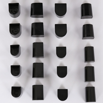 70 Pairs/Lot High Heel Latin Stiletto Dancing Covers Heel Stoppers Anti-slip Silicone High Heel Protectors for Wedding Party 3 pairs high heel protector suit latin american dances stiletto dance shoe cover against sliding heel protective plugs noiseless
