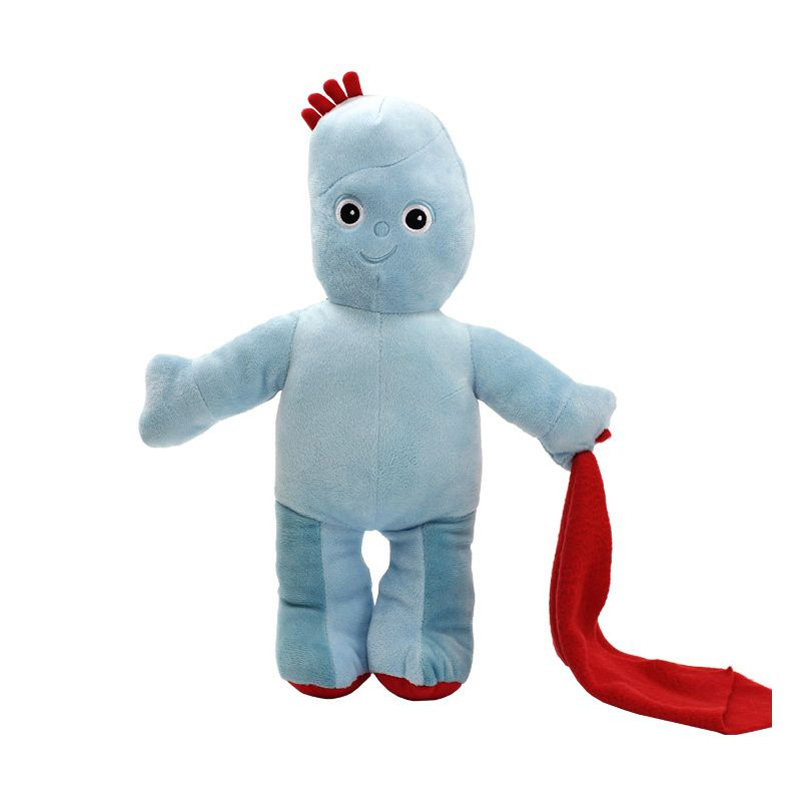 45cm stuffed doll soft in the night garden cute blue iggle piggle plush toy for Baby Kids Girls Gifts, TW20056