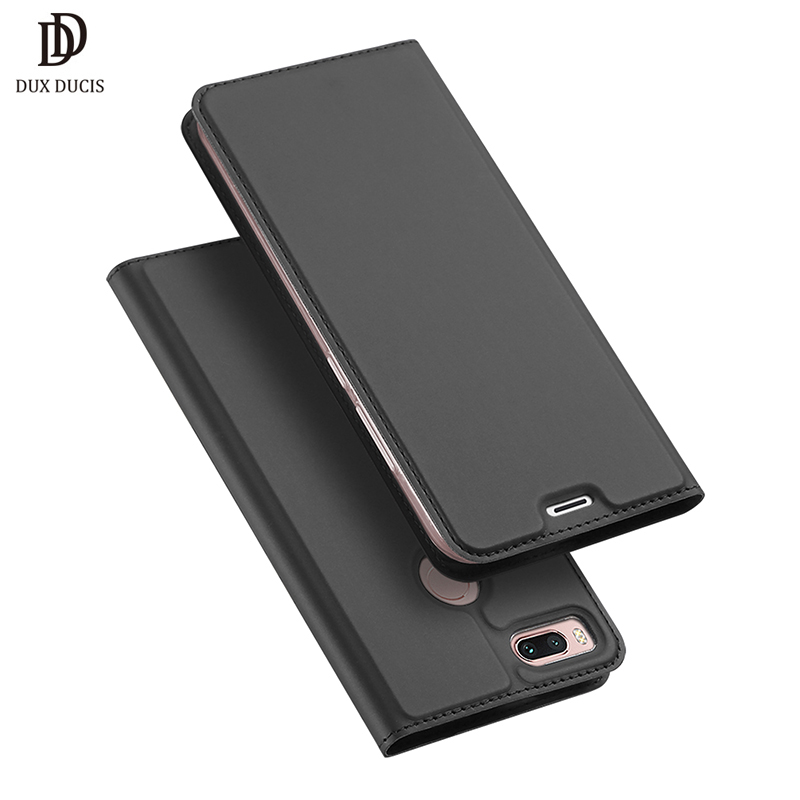 DUX DUCIS Flip Case for Xiaomi Mi 5X A1 PU Leather TPU Soft Bumper Protective Card Holder Wallet Stand Cover Mobile Phone Bag