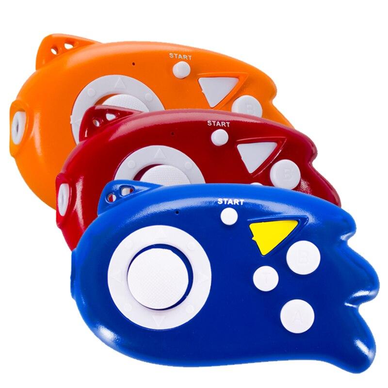 Мини игровой консоли 8 бит геймпад встроенные 89 классические игры Поддержка ТВ Выход plug & play фонарик игровой консоли ребенок подарок
