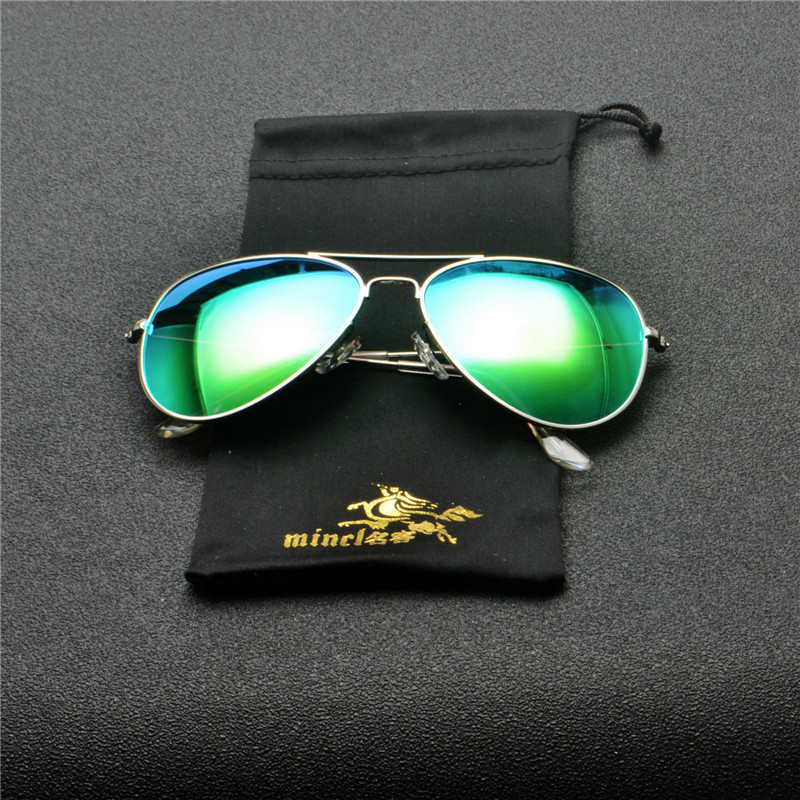2018 Men mirror Polarized Sunglasses Classic Men Retro Shades Brand Designer Pilot Sun glasses Women Retro Glasses goggle FML 4