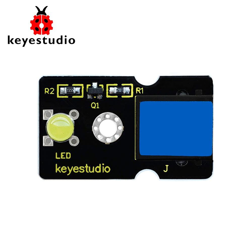 Keyestudio RJ11 EASY Plug  LED Module(Yellow) For Arduino STEM