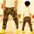 Calças de Brim novas Menino Camuflagem calças de Brim Menino Crianças Calças de Brim calças de Brim Enfant Garcon 6BJ047