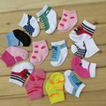 Детские Носки 2017 Новый 3 пар Симпатичные Детские Носки Девушки мальчики Аксессуары Для Младенцев 0-12 Месяцев meias infantil новорожденного короткие носки