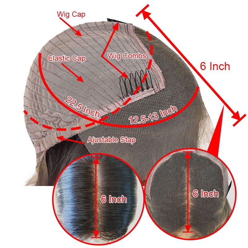 1 perruques bouclées de cheveux humains (3)