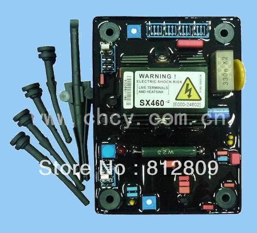 AVR SX460 3pcs/lot red capacitor and soft high quality automatic voltage regulator + FREE SHIPPING by FEDEX/DHL/UPS EMS leroy somer generator avr r230 free shipping fedex ems ups dhl