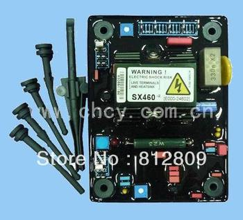 AVR SX460  3pcs/lot red  capacitor and soft  high quality  automatic voltage regulator + FREE SHIPPING by FEDEX/DHL/UPS EMS