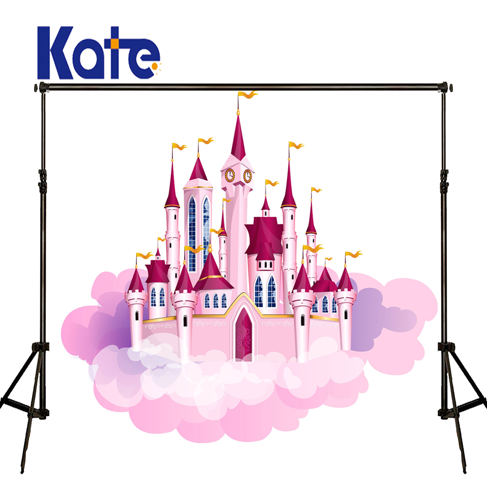 KATE Photo Background 8x8ft Scenic Photography Backdrops Castle Background Newborn Backdrop for Children Photo Shoot