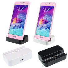 Micro USB Charger Docking Station Desktop Universal Charging Syncing Docking Station Dock for Cell Phone(China)