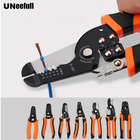 UNeefull Electrician Wire Stripper Multi Tool Pliers Cable Cutter Wire Stripping Crimping Tools,Oblique crimping pliers