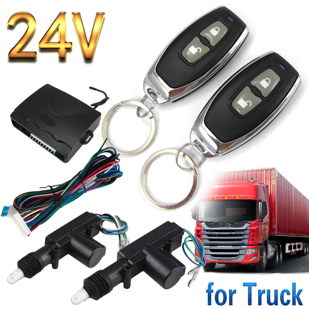 BIUYEE Truck remote control lock unlock 24V volt freight wagon goods train lorry Vehicle Keyless Entry
