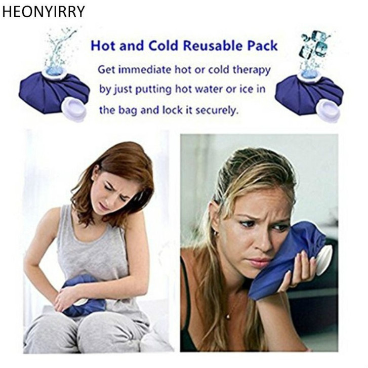 Beauty Ice Bag Cap Reusable Health Skin Care Cold Therapy Pack Cool Pack Muscle Aches First Aid Relief Pain Facial Skin Tool