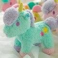 20 cm 1 unidades 2016 nuevo estilo de Dibujos Animados géminis unicornio muñeco de peluche de juguete lechón colgante bolsas colgante juguetes de los niños