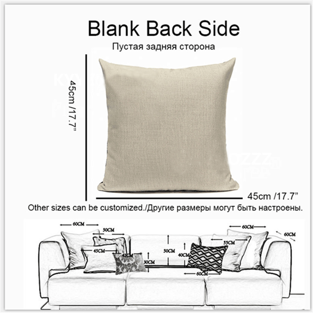 Hand painted Retro Skeleton Personality Design Cushion Cover Linen Cotton 45 45cm Bedding Pillowcase Automobile Decoration in Cushion Cover from Home Garden