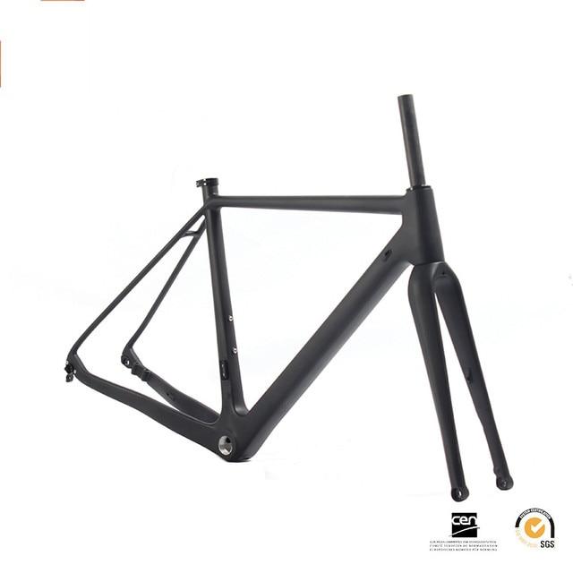 SOBATO 2018 Painting Road Bike Frame Flat Mount Disc Brake 700*40C ...