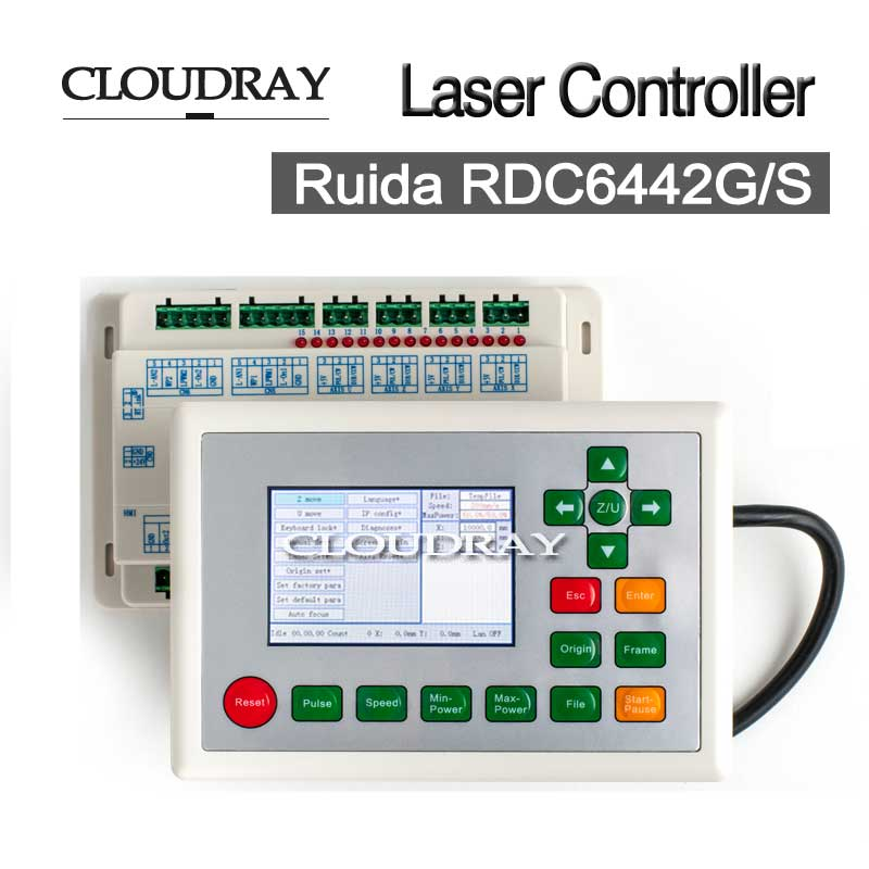 CNC Laser Controller Board Ruida Co2 Laser DSP Controller For Laser Engraving and Cutting Machine RDC6442G/6442S