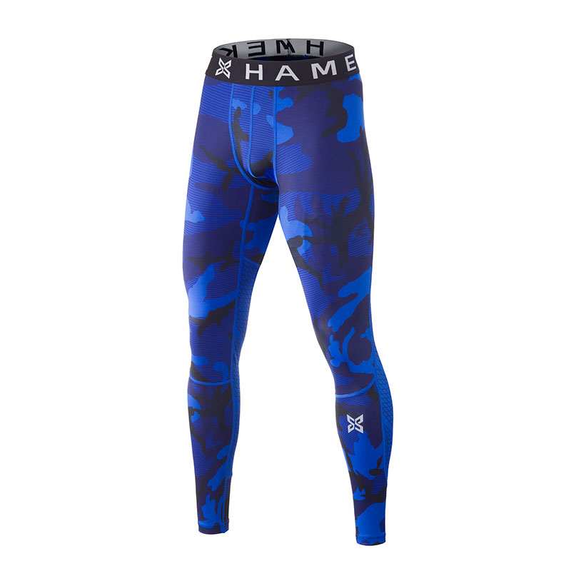 New Running Tights Men Camouflage Fitness Skins Sport Leggings Compression  Running Tights Gym Dry Collant Running Pants Trousers-in Running Tights  from ... f432b963723