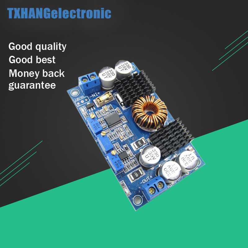 DC 5V-32V to 1V-30V 10A LTC3780 Automatic Step Up Down Regulator Charging Module voltage regulator