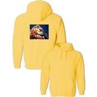 Popular 3D Cartoon Zootopia Zootropolis Lion Mayor Print Pullover Sweatshirts Women's Girl's Men's Boy's Hoodies Casual Coat