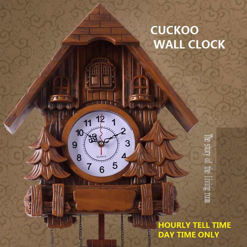 Cuckoo Clock Fashion Living room Resin Wall clock 20inch Alarm clock Swing Watch Modern brief