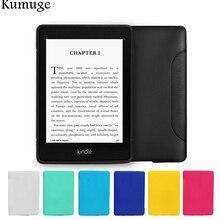 Чехол для Kindle Paperwhite 4 чехол мягкий ультра тонкий термополиуретановый силиконовый чехол для планшета электронная читалка задняя крышка чехол для Kindle Paperwhite 1/2/3 Coque