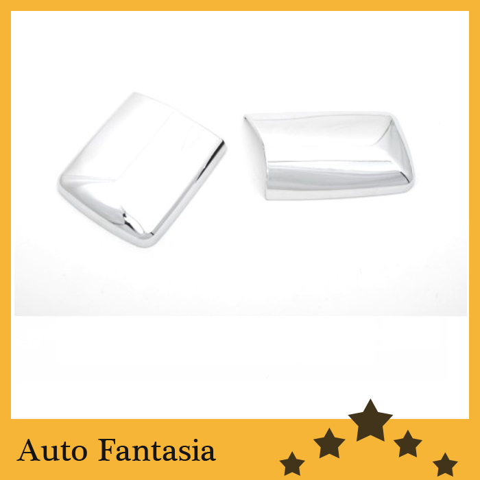 <font><b>Chrome</b></font> Side Mirror Cover LHD for <font><b>Mercedes</b></font> Benz <font><b>W124</b></font> E Class image