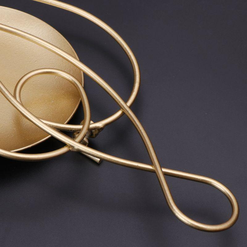 Metall Eisen Leuchter Hängende Wandleuchter Kerzenhalter Wohnkultur Ornamente