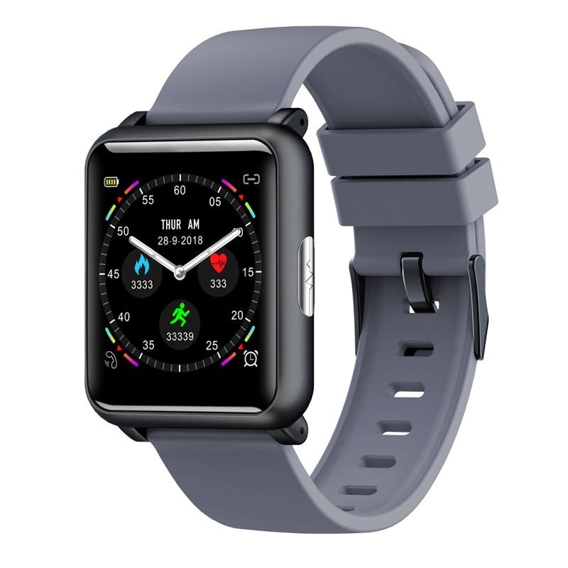 Smart Watch ECG PPG Heart Rate Monitor Blood Pressure Fitness Watch IP67 Waterproof Smartwatch for IOS