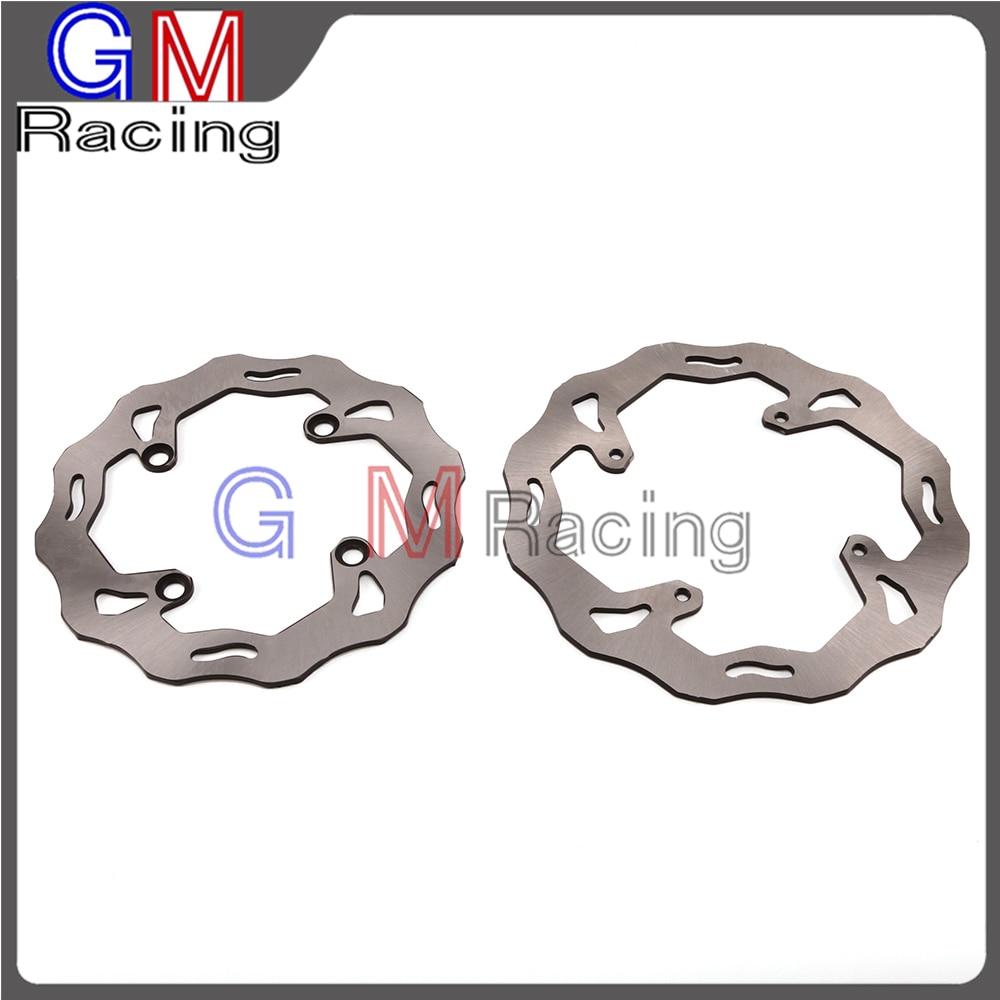 Motorcycle Front Rear Brake Disc Rotor For HONDA CR250R CR500R CRF150F CRF230F CRM250 SL230 XL250 XR125