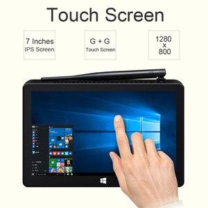 Image 2 - New PIPO X8S X8 Pro Dual HD Graphics TV BOX Windows 10 Intel Z3735F Quad Core 2GB/32GB Tv Box 7 Inch Screen Mini Pc