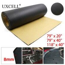 UXCELL 315mil 8mm Thick 200cm*50/100cm 300cm*100cm Car Auto Floor Tailgate Trunk Sound Insulation Deadener Soundproof Mat Pad