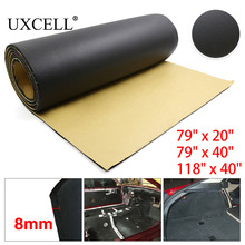 UXCELL 315mil 8mm Thick 200cm*50/100cm 300cm*100cm Car Auto Floor Tailgate Trunk Sound Insulation Deadener Soundproof Mat Pad